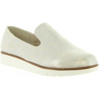 Sapatos Mulher Mocassins Top Way B719391-B7200 Plateado