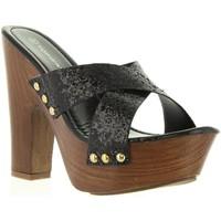 Sapatos Mulher Chinelos Top Way B736910-B7200 Negro