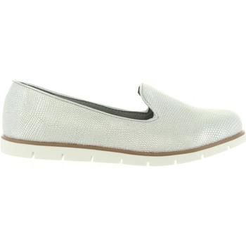 Sapatos Mulher Mocassins Top Way B733970-B7200 Plateado