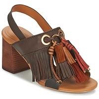 Sapatos Mulher Sandálias See by Chloé SB30102 Castanho
