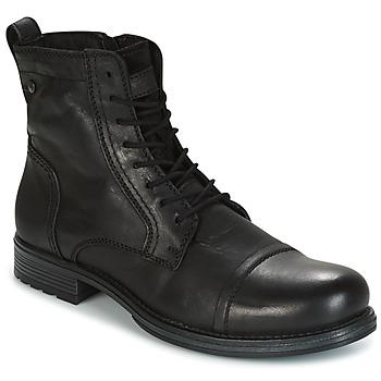 Sapatos Homem Botas baixas Jack & Jones RISSOL Preto