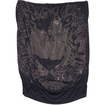 Textil Mulher Tops sem mangas Met Top Pix Preto