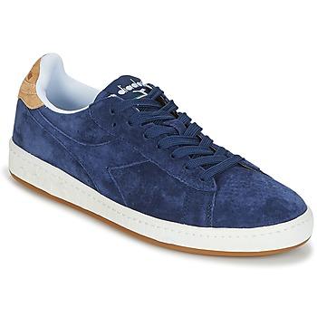 Sapatos Homem Sapatilhas Diadora GAME LOW SUEDE Azul