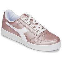 Sapatos Mulher Sapatilhas Diadora B ELITE I METALLIC WN Bronze