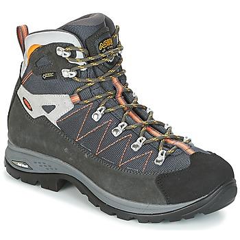 Sapatos Homem Sapatos de caminhada Asolo FINDER GV MM Cinza / Laranja