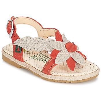 Sapatos Rapariga Sandálias El Naturalista SAMOA Laranja / Cru