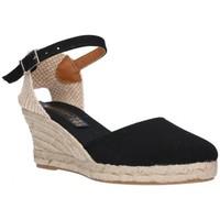 Sapatos Mulher Alpargatas Fernandez 682       5c Mujer Negro noir
