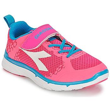 Sapatos Rapariga Sapatilhas Diadora NJ-303-1 JR Rosa