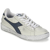Sapatos Sapatilhas Diadora GAME L LOW WAXED Branco / Azul