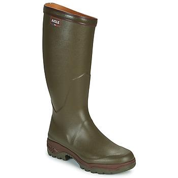 Sapatos Homem Botas de borracha Aigle PARCOURS 2 Cáqui