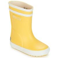Sapatos Criança Botas de borracha Aigle BABY FLAC Amarelo