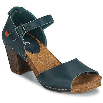 Sapatos Mulher Escarpim Art IMEET Verde / Pato