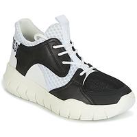 Sapatos Homem Sapatilhas Bikkembergs FIGHTER 2022 LEATHER Preto / Branco
