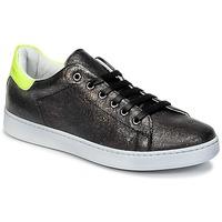 Sapatos Criança Sapatilhas Young Elegant People EDENI Preto / Amarelo / Fluo