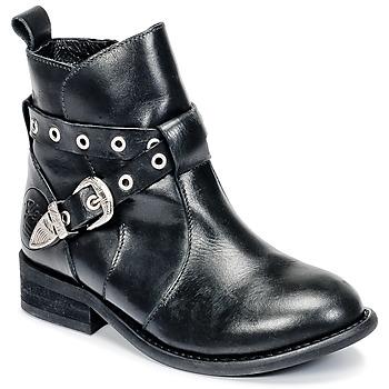 Sapatos Rapariga Botas baixas Young Elegant People CALYPSOM Preto