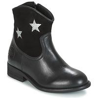 Sapatos Rapariga Botas baixas Young Elegant People FARAHI Preto