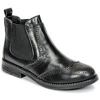 Sapatos Rapariga Botas baixas Young Elegant People JOSEPHI Preto