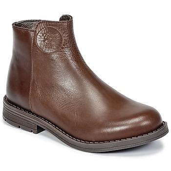 Sapatos Rapariga Botas baixas Young Elegant People IVONNET Castanho