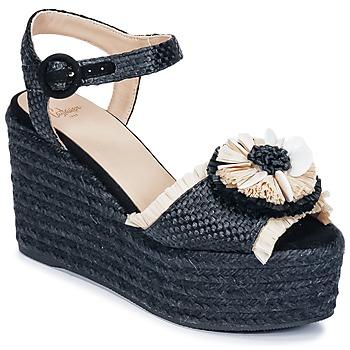 Sapatos Mulher Sandálias Castaner EFEDRA Preto