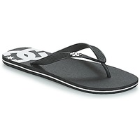 Sapatos Homem Chinelos DC Shoes SPRAY M SNDL BLW Preto / Branco