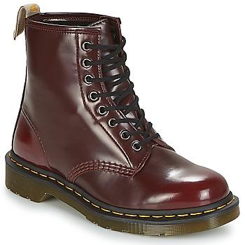 Sapatos Botas baixas Dr Martens VEGAN 1460 Vermelho