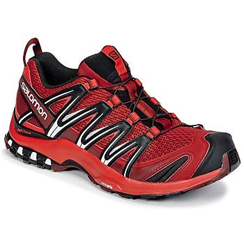 Sapatos Homem Sapatilhas de corrida Salomon XA PRO 3D Vermelho / Preto