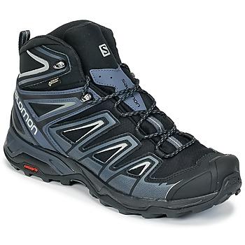 Sapatos Homem Sapatos de caminhada Salomon X ULTRA 3 MID GTX® Preto