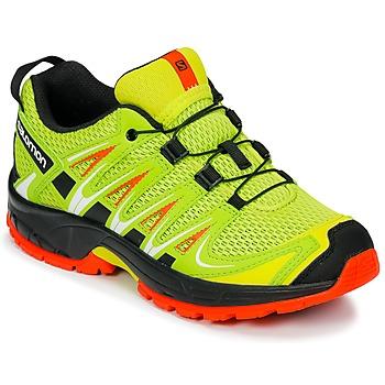 Sapatos Criança Multi-desportos Salomon XA PRO 3D J Amarelo / Preto