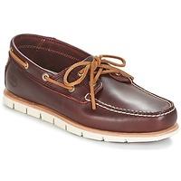 Sapatos Homem Sapato de vela Timberland TIDELANDS 2 EYE Bordô