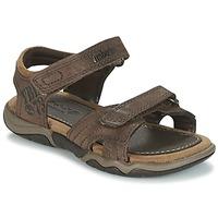 Sapatos Criança Sandálias desportivas Timberland OAK BLUFFS Castanho
