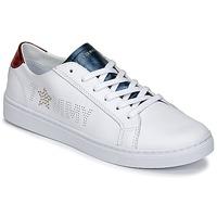 Sapatos Mulher Sapatilhas Tommy Hilfiger VENUS 22 Branco / Azul / Vermelho