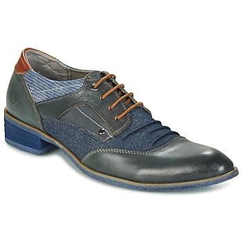 Sapatos Homem Sapatos Kdopa LYON Azul / Camel