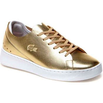 Sapatos Mulher Sapatilhas Lacoste EYYLA 317 1 C.2M2 GLD ouro