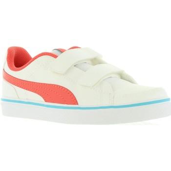 Sapatos Criança Sapatilhas Puma 362948 COURT Blanco