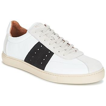 Sapatos Homem Sapatilhas Selected SHNDURAN NEW MIX SNEAKER Branco / Marinho