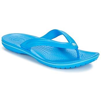 Sapatos Chinelos Crocs CROCBAND FLIP Azul