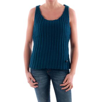 Textil Mulher camisolas Amy Gee AMY04202 Azul