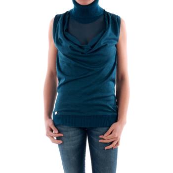 Textil Mulher camisolas Amy Gee - Azul