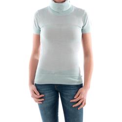 Textil Mulher camisolas Amy Gee - Azul claro