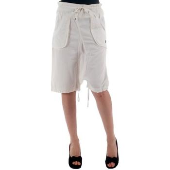 Textil Mulher Shorts / Bermudas Diesel  Blanco