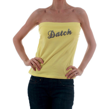 Textil Mulher Tops sem mangas Datch DTC00006 Amarillo