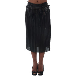 Textil Mulher Saias Fornarina MARINE_ANTHRACITE Negro