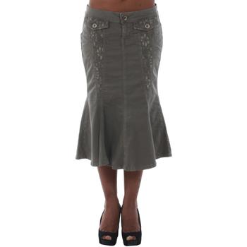 Textil Mulher Saias Fornarina DUNDEE_SMOG Verde