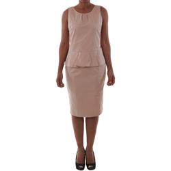Textil Mulher Vestidos curtos Fornarina SAYDA_POWDER Rosa