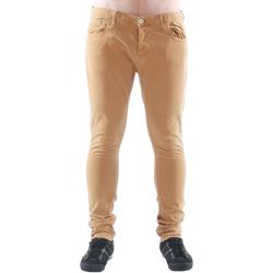 Textil Homem Gangas Skinny Freesoul DRAKE CATO SENAPE Beige