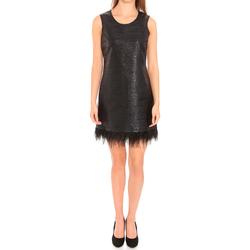 Textil Mulher Vestidos curtos Liu Jo F65029T8222_22222 Negro
