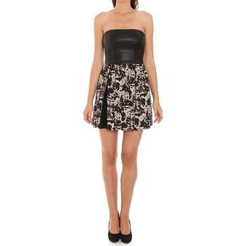 Textil Mulher Vestidos curtos Liu Jo C65191T1539_Z9528 Negro