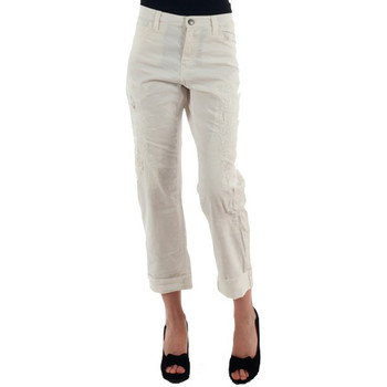 Textil Mulher Chinos Miss Sixty  Blanco roto