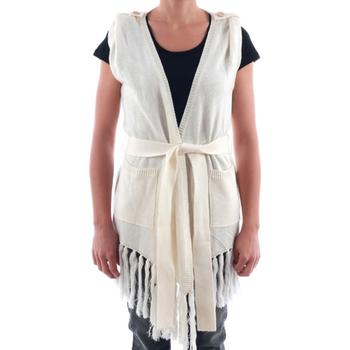 Textil Mulher Casacos de malha Nolita  Blanco roto