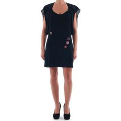 Textil Mulher Vestidos curtos Nolita  Negro